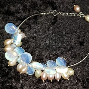 2/$15 Genuine pearls & Moonstones